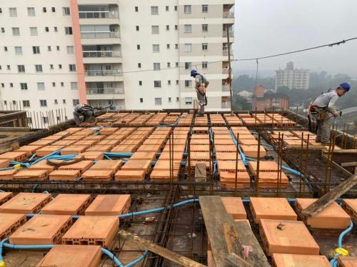 Construção Owen em 25 de junho de 2021