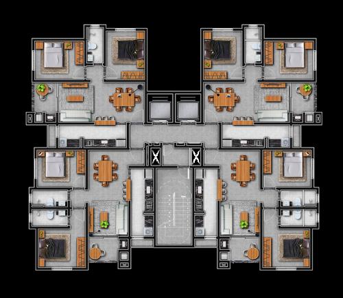 Residencial Owen - Planta